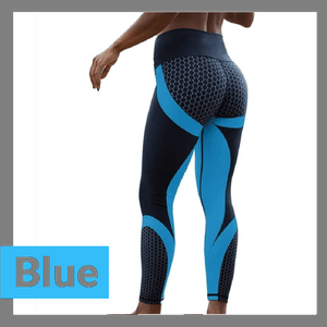 Anti-Cellulite Mesh Pattern Leggings