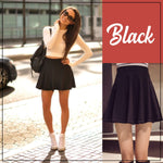 Stretchable High Waist Skirt