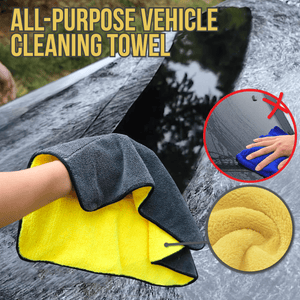 All-Purpose Vehicle Cleaning Towel