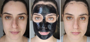 Charcoal Cleansing Peel Off Black Mask
