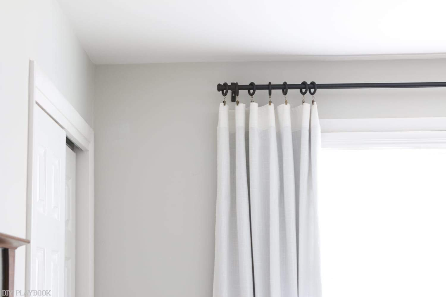 Invisible Curtain Rod Holders Fanzyzone