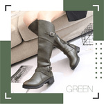 Cowgirl Knee-High Riding Boots