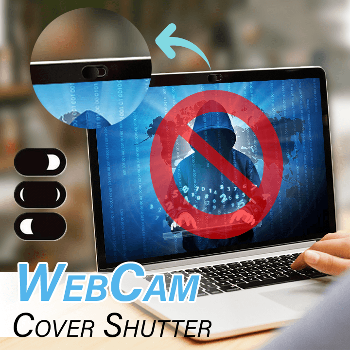 WebCam Cover Shutter (Set of 6)
