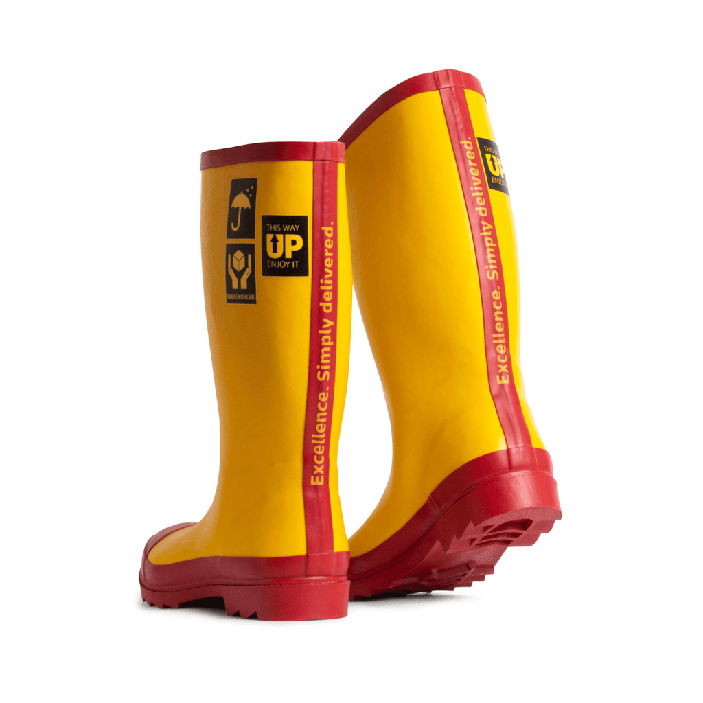 (W) DELIVERED WITH CARE WOMEN'S RAIN BOOTS