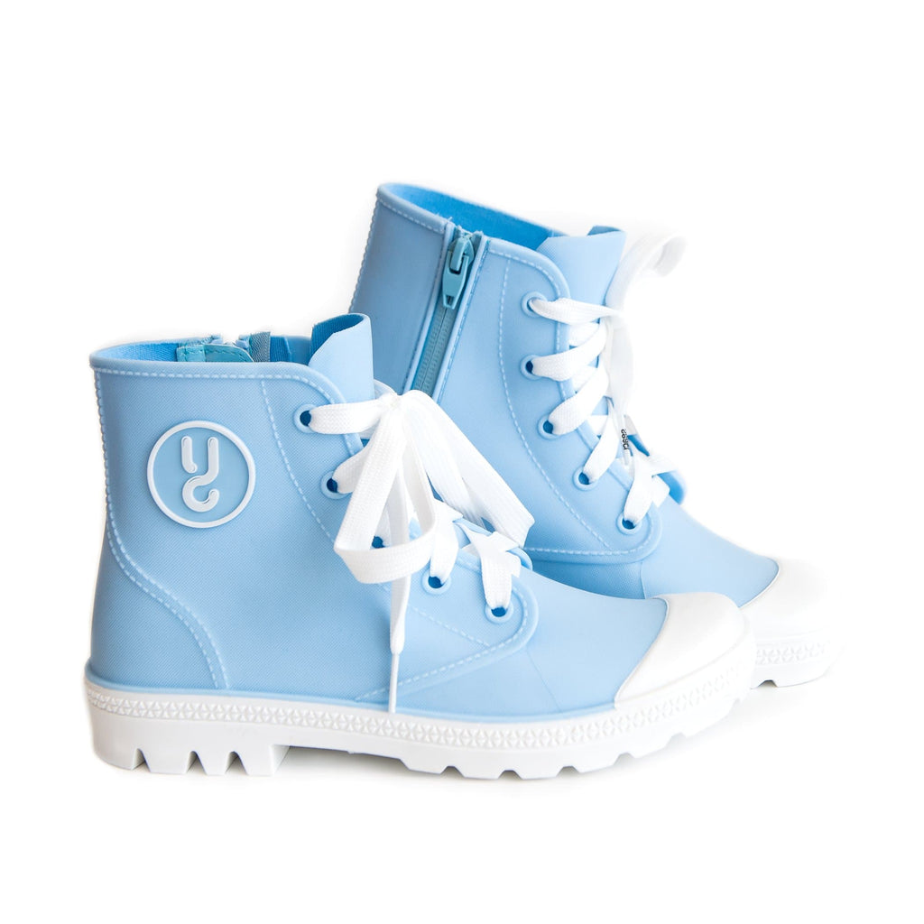 CLOUDY BLUE RAINKERS WOMEN'S RAIN BOOTS