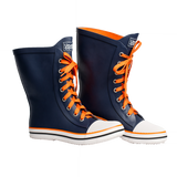 DENIM BLUE WOMEN'S RAIN BOOTS