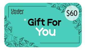 UNDERCOVER GIFT CARD $60
