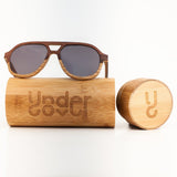 EDGY WOOD SUNGLASSES