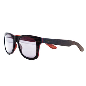 SQUARED WOOD SUNGLASSES