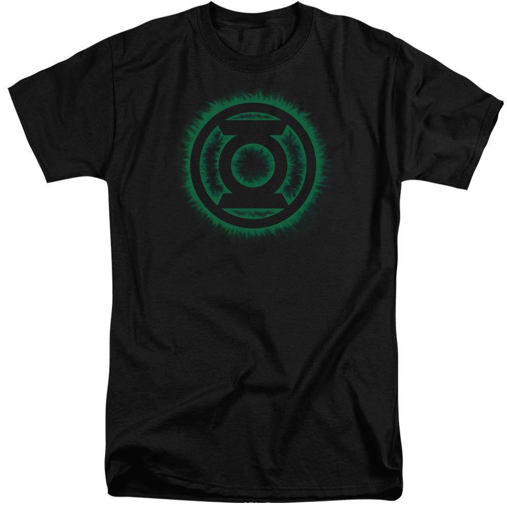 Green Lantern - Green Flame Logo Short Sleeve Adult Tall - Orion Go Beyond
