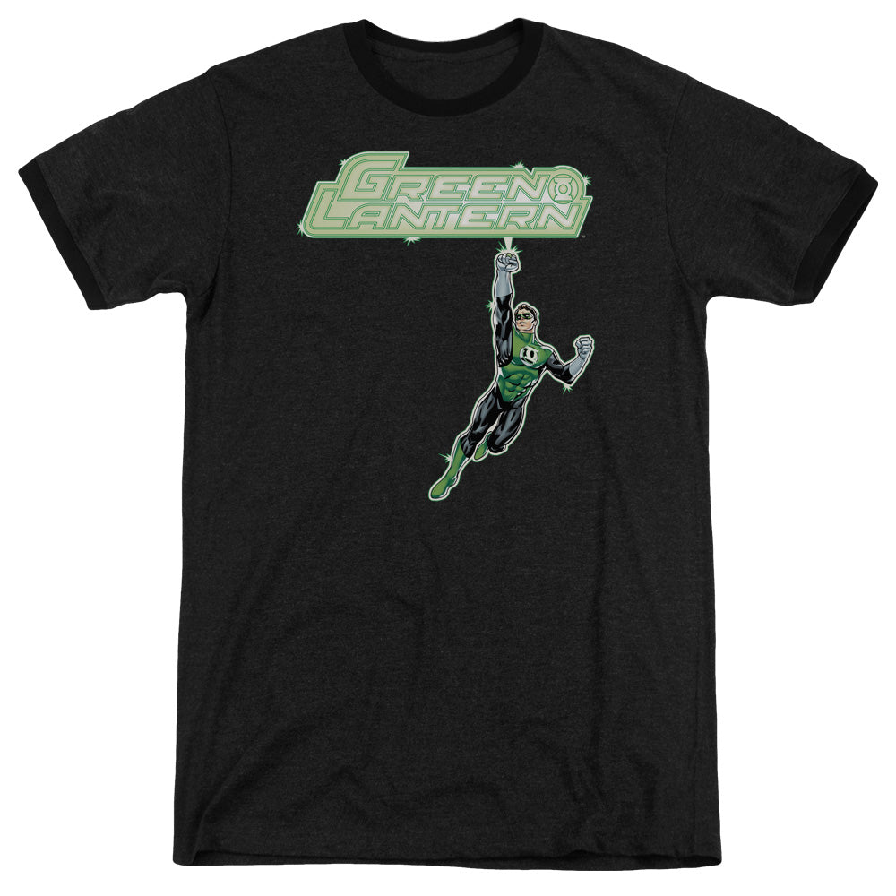 Green Lantern - Energy Construct Logo Adult Heather - Orion Go Beyond