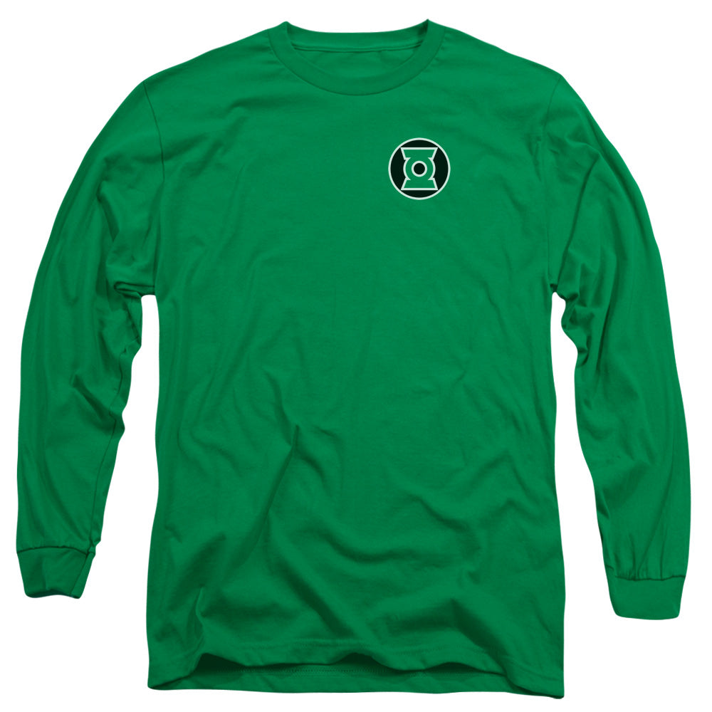 Green Lantern - Kyle Rayner Logo Long Sleeve Adult 18/1 - Orion Go Beyond