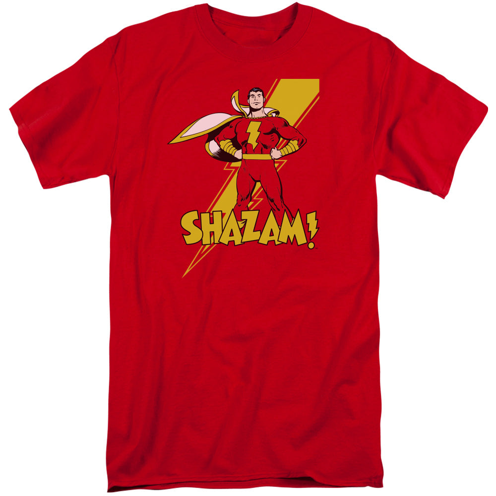 Dc - Shazam! Short Sleeve Adult Tall - Orion Go Beyond