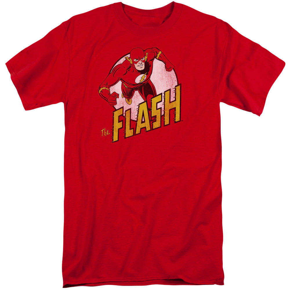 Dc - The Flash Short Sleeve Adult Tall - Orion Go Beyond