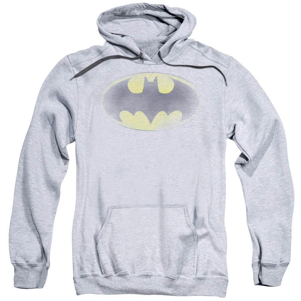 Batman - Faded Logo Adult Pull Over Hoodie - Orion Go Beyond