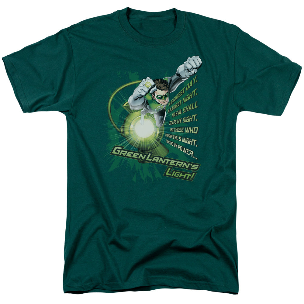 Green Lantern - Flying Oath Short Sleeve Adult 18/1 - Orion Go Beyond
