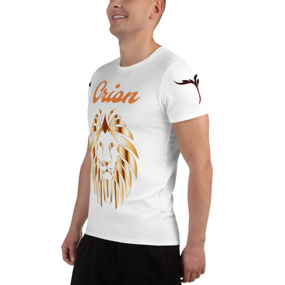 All-Over Print Men's Athletic T-shirt - Orion Go Beyond