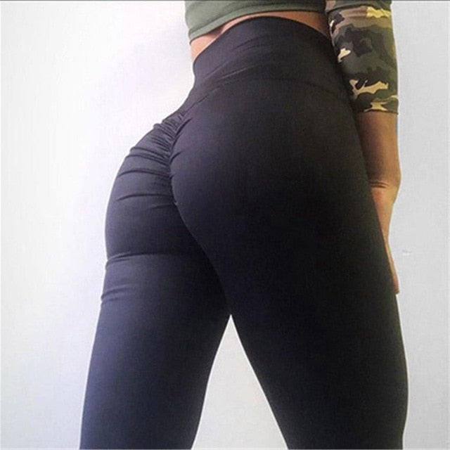 All Season Slim Leggings Pants Fitness High Waist Casual Stretch Women Length Solid Full - Orion Go Beyond