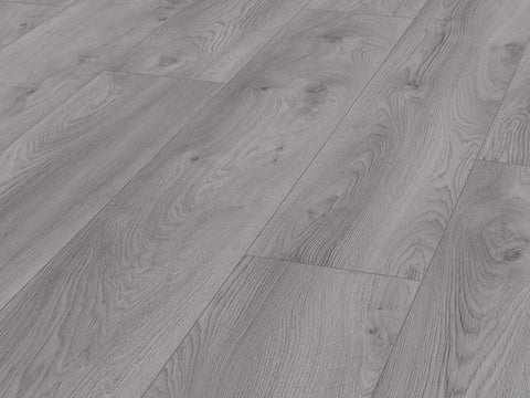 10MM MAMMUT PLUS LP AC5 MACRO OAK LIGHT GREY LAMINATE FLOORING €18.84 Per sq Yard
