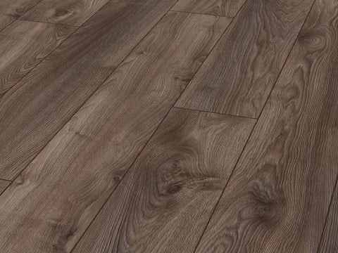 12MM MAMMUT 4V LP AC5 MACRO OAK BROWN EIR LAMINATE FLOORING €18.84 Per sq Yard