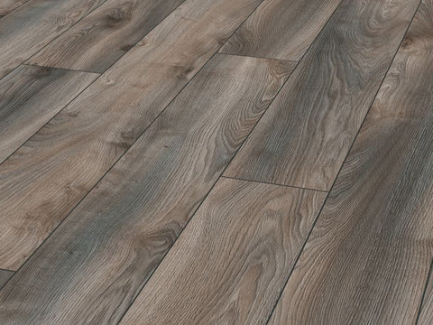 12MM MAMMUT 4V LP AC5 MACRO OAK GREY EIR LAMINATE FLOORING €18.84 Per sq Yard
