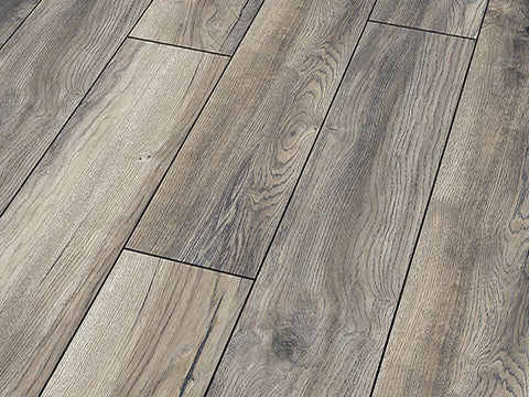 12MM ROBUSTO 4V AC5 HARBOUR OAK GREY EIR LAMINATE FLOORING REDUCUED TO €14.50 Per sq Yard