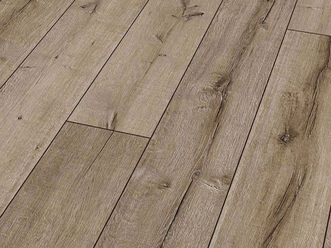 12MM ROBUSTO 4V AC5 RIP OAK LAMINATE FLOORING €15.55 Per sq Yard