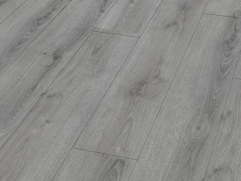 12MM LIFESTYLE 4V AC5 SUMMER OAK GREY EIR LAMINATE FLOORING 1.293m2 per box