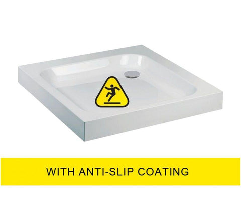 JT Ultracast 1000 Square Shower Tray - Anti Slip  Code A100AS