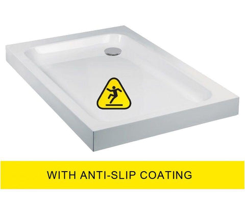 JT Ultracast 1000x800 Rectangle Shower Tray - Anti Slip   Code A1080AS