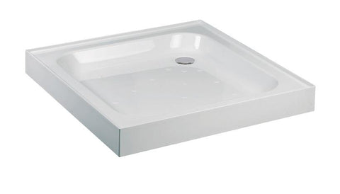 JT Ultracast 900 Square Shower Tray with Upstand - Anti Slip  Code A904AS