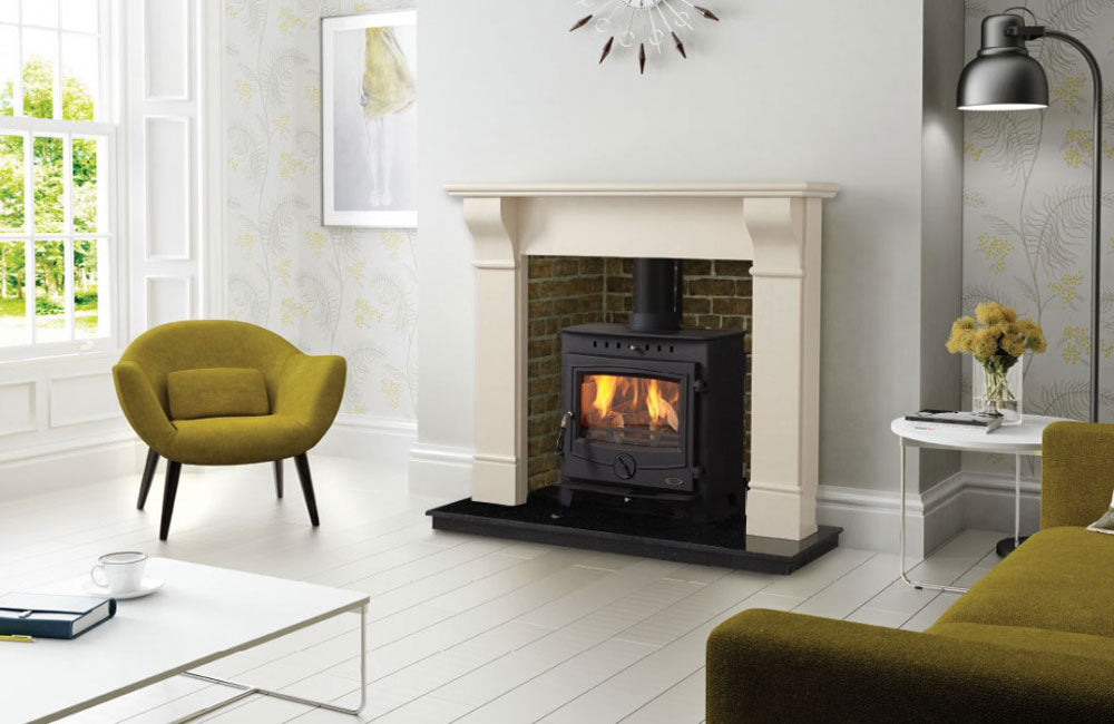 Achill 18kW free Standing Black Boiler Stove