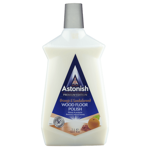 ASTONISH PREMIUM EDITION WOOD FLOOR POLISH ORANGE & SANDALWOOD (1L)