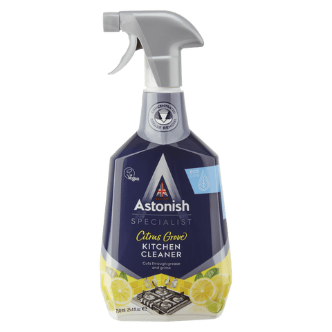 ASTONISH SPECIALIST KITCHEN CLEANER CITRUS GROVE (750ML)