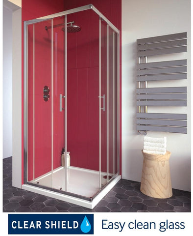 SONAS City Plus 760 Corner Entry Shower Door  Code CTP026