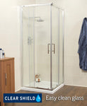SONAS K2 760 Corner Entry Shower Enclosure - Adjustment 715-740mm Code EK219C76