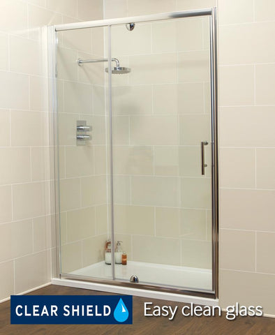 SONAS K2 1200 Pivot Shower Door & Inline Shower Enclosure - Adjustment 1160-1220mm Code EK219PVI1200