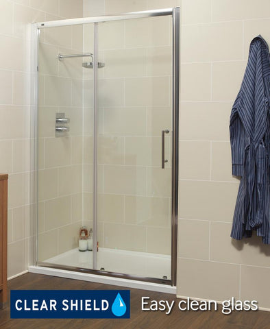 SONAS K2 1600mm Sliding Shower Door - Adjustment 1560 -1620mm  Code EK219SV160