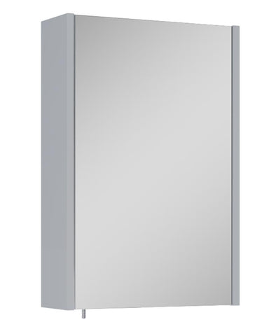 SONAS Otto Plus Gloss Light Grey 45cm Mirror Cabinet Code ELTOP2250LG