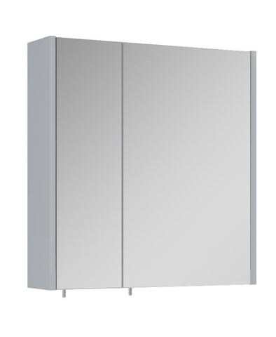 SONAS Otto Plus Gloss Light Grey 60cm Mirror Cabinet Code ELTOP2260LG