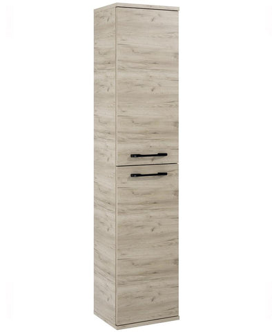 SONAS Otto plus Craft Oak 30cm Wall Column - Black Handles Code ELTOPCOLCO
