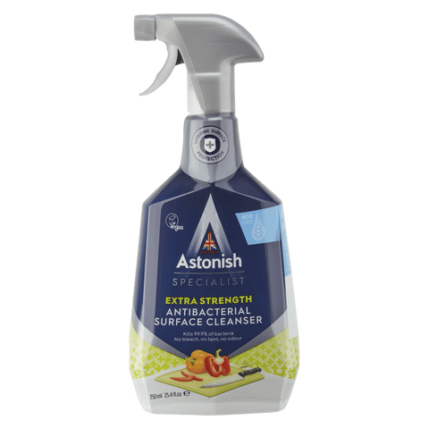 ASTONISH SPECIALIST EXTRA STRENGTH ANTIBACTERIAL SURFACE CLEANSER (750ML)