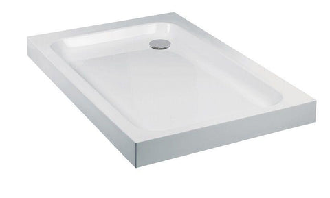 JT Ultracast 1100x760 Rectangle Shower Tray  Code HSP11X76WH