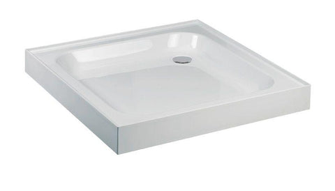 JT Ultracast 1000 Square 4 Upstand Shower Tray  Code HSPA1000140