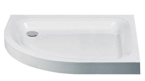 JT Ultracast 1200x800 Offset Quadrant Shower Tray LH  Code HSPA1280LQ100