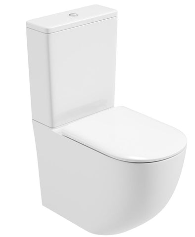 SONAS Inspire Fully Shrouded RIMLESS Toilet and Soft Close Seat Code INSFS06