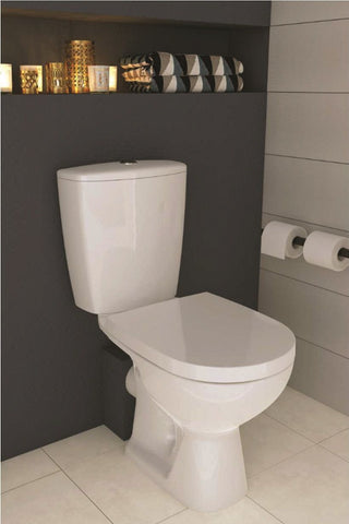 SONAS Faro Compact Close Coupled Toilet and Seat Code K667-030-EX1