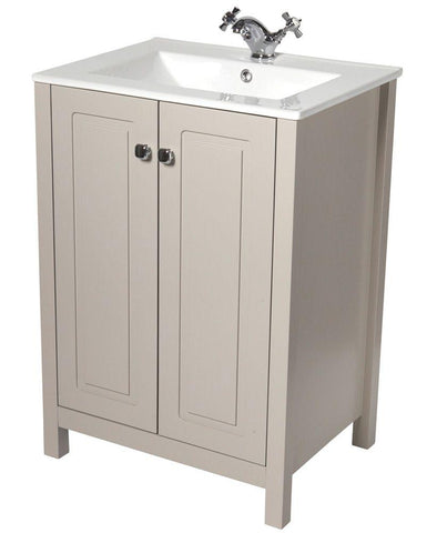 SONAS Kingston 60 Stone Vanity Unit & Toledo Basin Code KIN60STTOL
