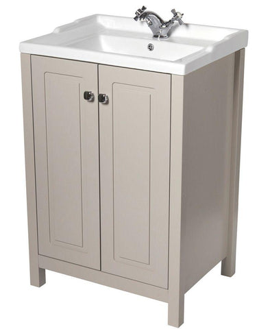 SONAS Kingston 60 Stone Vanity Unit & Victoria Basin Code KIN60STVIC