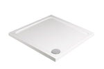 SONAS Kristal Low Profile 1000 Square Shower Tray with FREE shower waste Code KLP100100
